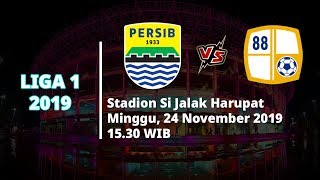 VIDEO: Live Streaming Liga 1 2019, Persib Bandung Vs Barito Putera Minggu (24/11) Pukul 15.30 WIB