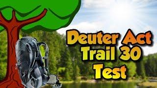 Deuter ACT Trail 30 / black-granite - відео 3