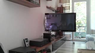 Motorisierte TV Wandhalterung Mecatronica FLAG 40M