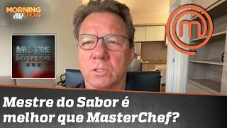 'Mestre do Sabor' é melhor que 'MasterChef'? Claude Troisgois responde