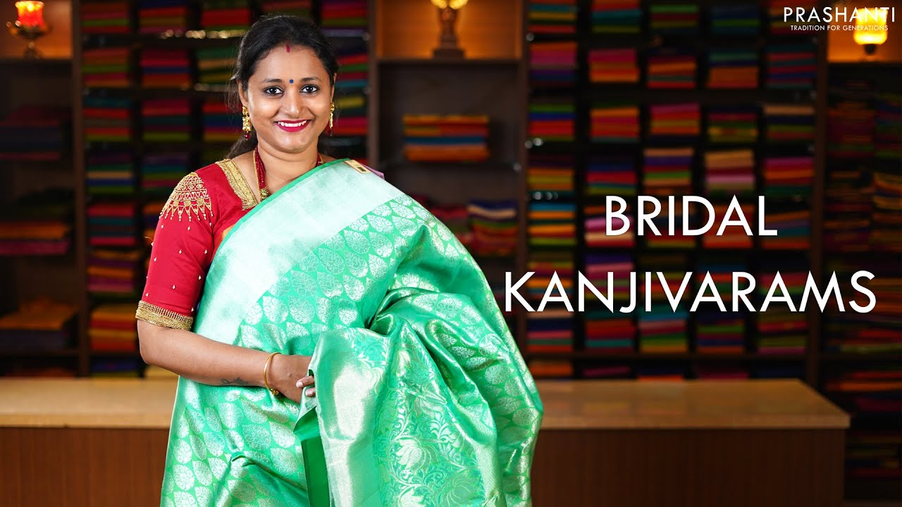 """<p style=""""color: red"""">Video : </p>Bridal Kanjivarams   8 Jan 2021   Prashanti 2021-01-09"""