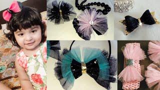 Baby Girl DIY Hair Clip | DIY Beautiful Headband |head Bow Clips Ideas