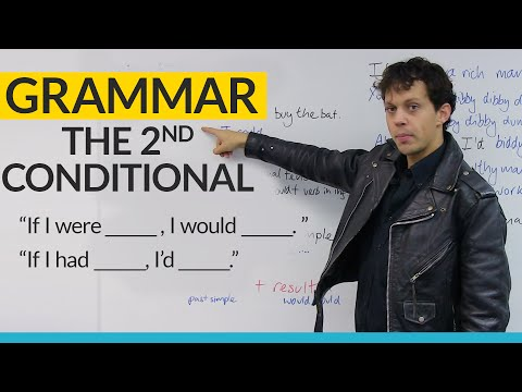 Learn English Grammar: The 2nd Conditional: WOULD & COULD