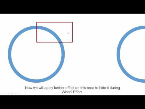 How to Create Reverse / Anti Clockwise Wheel Effect | PowerPoint 2016 Tutorial