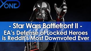 EA's Defense of Battlefront 2's Locked Heroes Became Reddit's Most Downvoted Comment Ever