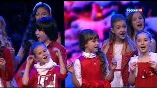 Рождественская Песенка года - Игорь Крутой, детский хор - Новый год - www.ecoleart.ru