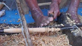 preview picture of video 'Handcrafting Cedar BBQ Skewers in Marrakech, Morocco'