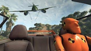 Crash Test Dummy: Police Escape 2 | BeamNG.drive