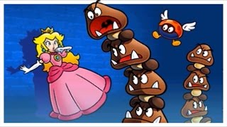 Super Mario 3D Land 100% Walkthrough Part 4 - World 4 (All Star Coins & Gold Flags)