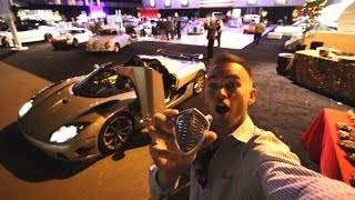Taking Floyd Mayweather's Koenigsegg Trevita to the FANCIEST PARTY of my life