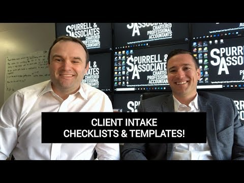 Edmonton Business Consultant | Client Intake Checklists & Templates