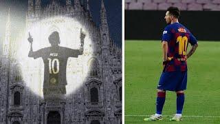 Messis Wechsel Zu Inter Mailand Nimmt Gestalt An !!