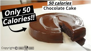 ONLY 50 Calories CHOCOLATE CAKE ! Yes, Its Possible And Its AMAZING!