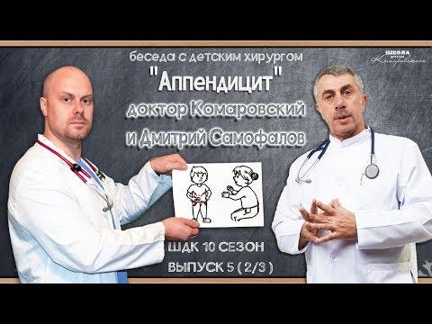Аппендицит - Доктор Комаровский