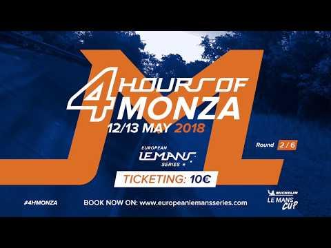 4 Hours of Monza 2018 - Teaser