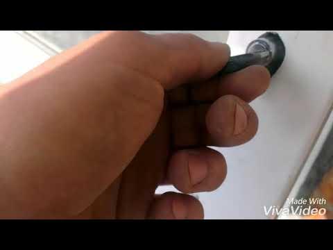 Cнятие и установка (замена) личинки (внутренности) замка металлопластиковой двери