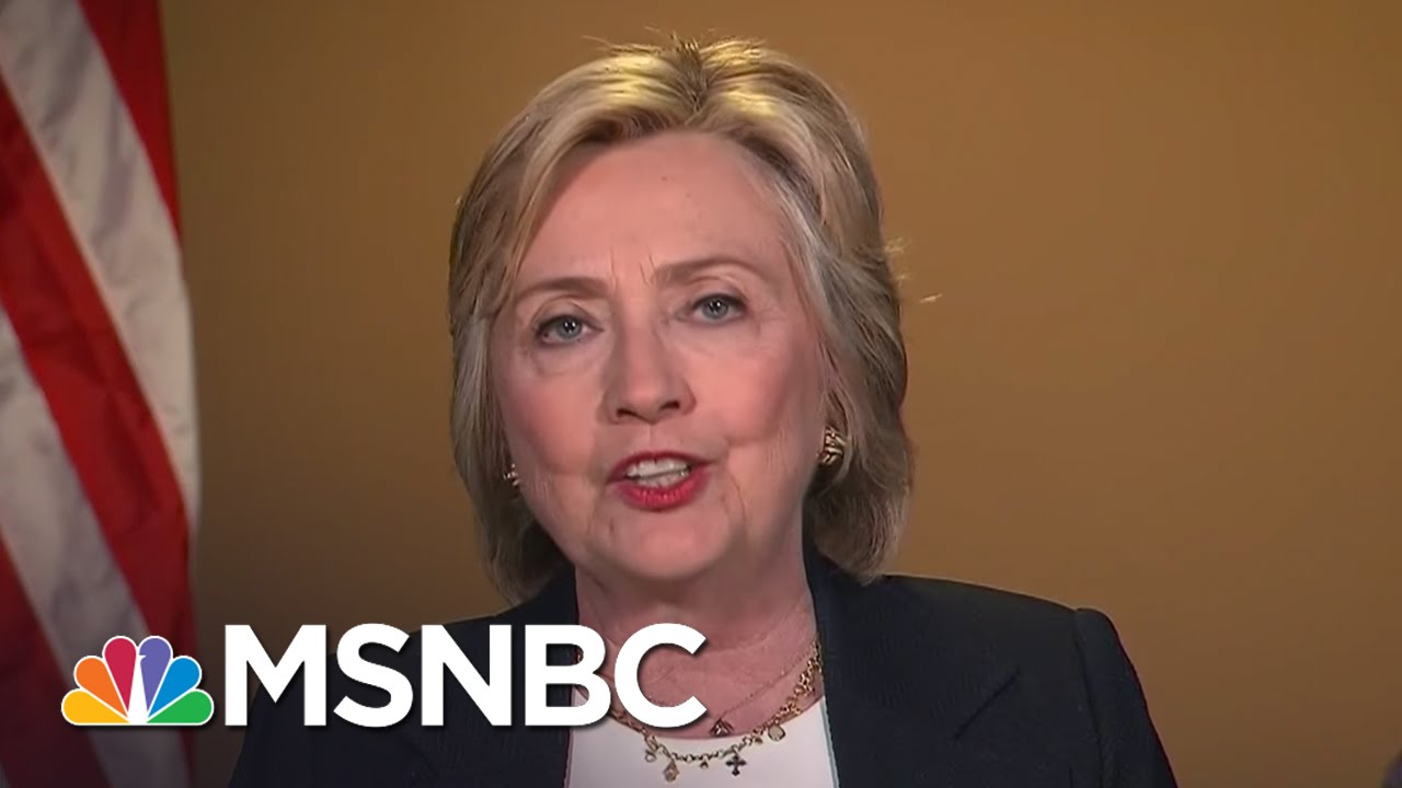 Hillary Clinton On Dallas, Race Relations, Email Investigation | MSNBC thumbnail