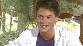 19 Year Old Rob Lowe Talks Being A Teen Heartthrob, Adjusting To Fame