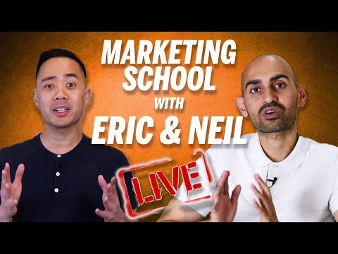 Marketing School LIVE with Eric Siu and Neil Patel (2 Hours of Marketing Advice!)