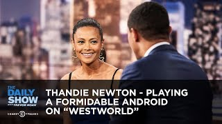 "Thandie Newton - Playing a Formidable Android on ""Westworld"" 