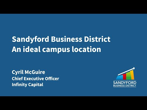 An Ideal Campus Location – Cyril McGuire