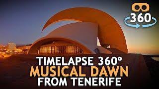 #Timelapse Dawn Tenerife #360º #4K #VirtualReality #HDR #360Video #VR #360