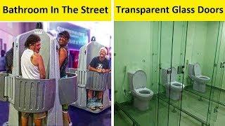 The Worst Public Bathrooms Ever!