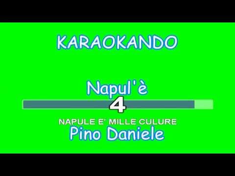 , title : 'Karaoke italiano - Napule è - Pino Daniele - ( testo )'