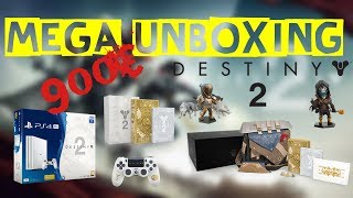 [Unboxing] Destiny 2 - Edition Collector + PS4 Pro + Loot... - FR