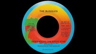 The Buggles ~ Video Killed The Radio Star 1979 Disco Purrfection Version
