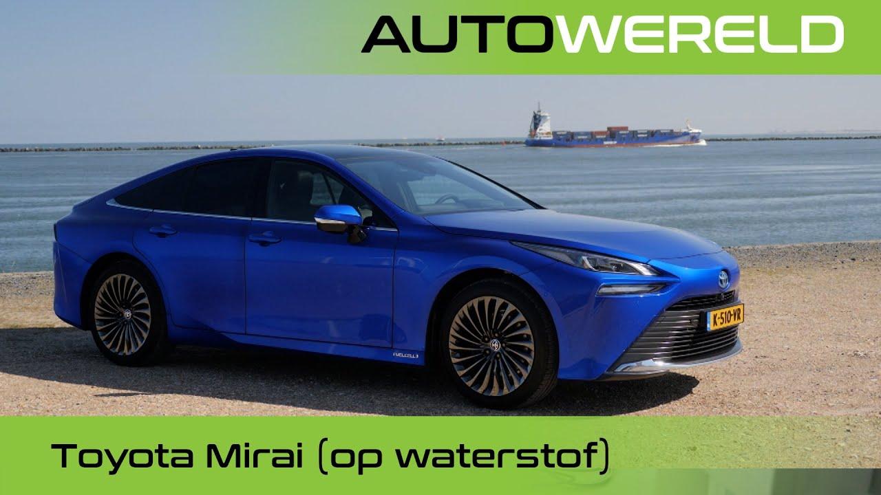 Toyota Mirai (op waterstof!) (2021) review met Andreas Pol