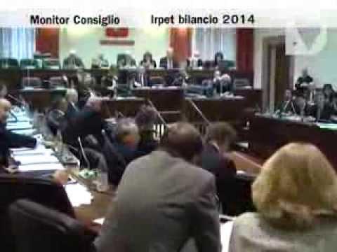 Monitor Consiglio - Bilancio 2014 Irpet, bilancio 2012 Toscana Promozione, edilizia recupero patrimonio.