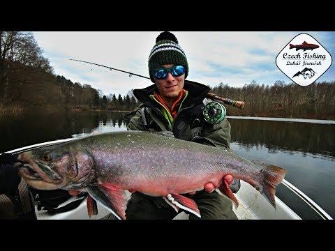 Jarní muškaření na jezeře [Zahájení pstruhové sezóny] HD 1080p