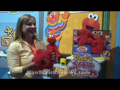 Elmo's Tickle Hands Lets You Tickle Yourself With Elmo's Hands