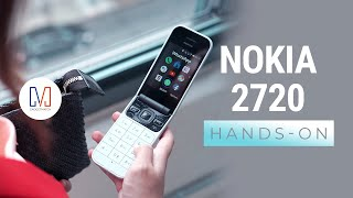 Nokia 2720 Flip Hands-On: Flip phone makes a comeback!