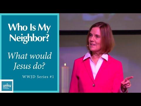 "Message: ""Jesus' Answer to Who is My Neighbor"" Rev. Paula Mekdeci, #1 of the WWJD Series – February 9, 2020"