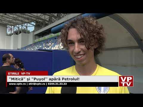 """""""Mitică"""" şi """"Puyol"""" apără Petrolul!"""