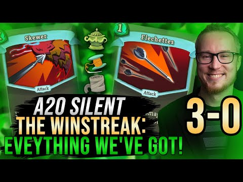 The Win Streak: To 3-0 With Eveything We've Got! | Ascension 20 Silent Run | Slay the Spire