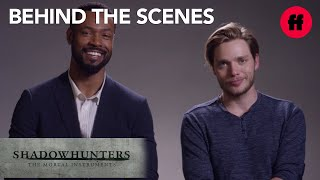 Shadowhunters | Behind the Scenes Season 2: Isaiah and Dominic's Favorite Lines | Freeform