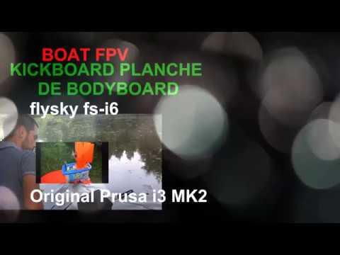 FlySky FS-i6 2.4G 6CH AFHDS RC Transmetteur avec FS-iA6 Récepteur for Boat