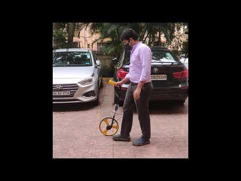 Kryptton Digital Measuring Wheel