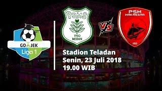 Live Streaming Ochanneltv.com Liga 1 Indonesia PSMS Medan Vs PSM Makassar Pukul 19.00 WIB