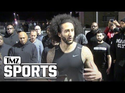 Colin Kaepernick Addresses NFL Teams, 'Ball's in Their Court' | TMZ Sports