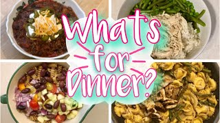 WHAT'S FOR DINNER? EASY FAMILY MEAL IDEAS + RECIPES OCTOBER 2019