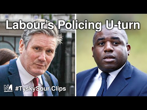 Labour's U-Turn On Shocking Tory Policing Bill