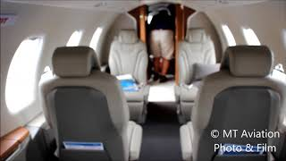 Pilatus PC-24 cabin tour