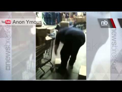 Walmart Workers Trash iPads