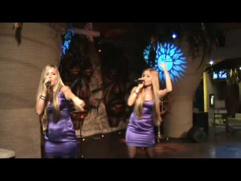 Twins (Dvines) Ana And Katrine Singing Natural Woman / Barbiedoll