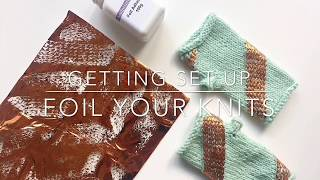 Mitt-A-Long: Make your mitts sparkle