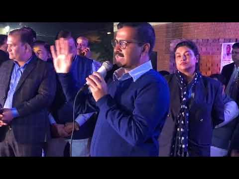 मुख्यमंत्री Arvind Kejriwal त्रिनगर में अग्रवाल समाज द्वारा आयोजित होली मिलन समारोह में सम्मिलित हुए
